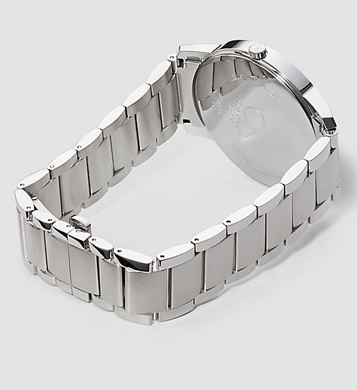 CALVINKLEIN CITY - SILVER / STAINLESS STEEL - CALVIN KLEIN GIFTS FOR HIM - detail image 1