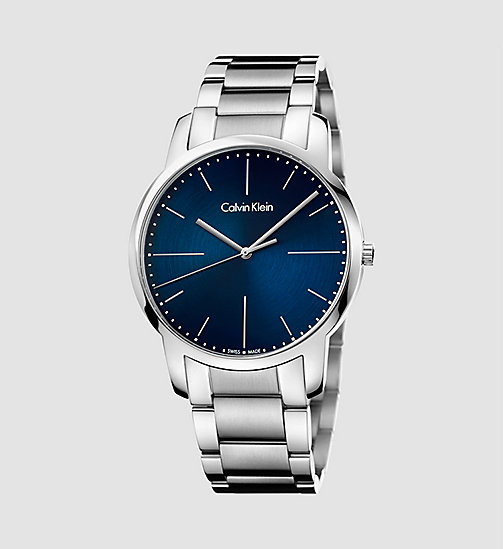 CALVINKLEIN Watch - Calvin Klein City - SST / BLUE - CALVIN KLEIN WATCHES - main image