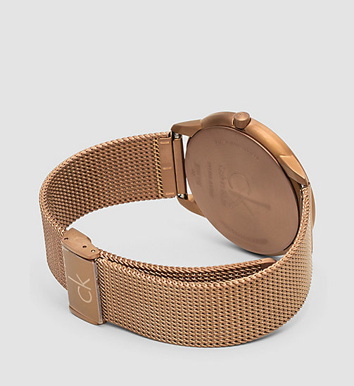 CALVINKLEIN Watch - Calvin Klein Minimal - COFFEE  /  BROWN - CALVIN KLEIN WATCHES - detail image 1