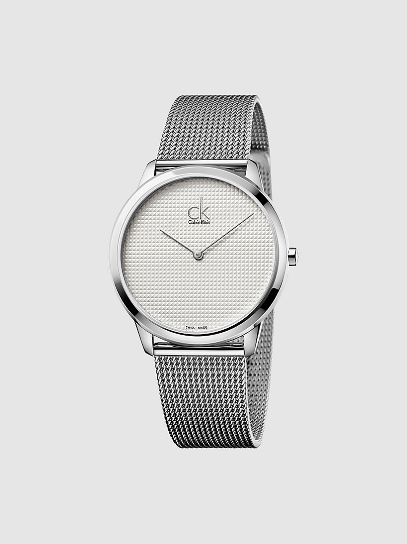CALVINKLEIN Watch - Calvin Klein Minimal - SILVER/STAINLESS - CALVIN KLEIN SHOES & ACCESSORIES - main image