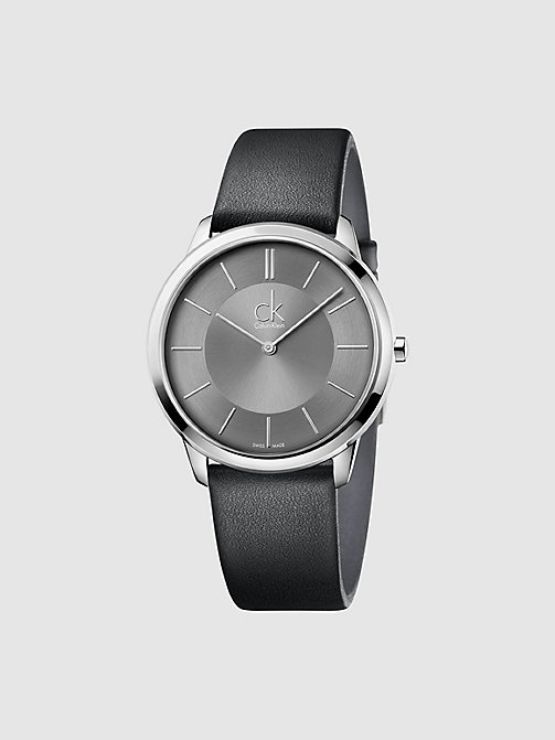 CALVINKLEIN Watch - Calvin Klein Minimal - BLACK - CALVIN KLEIN WATCHES - main image