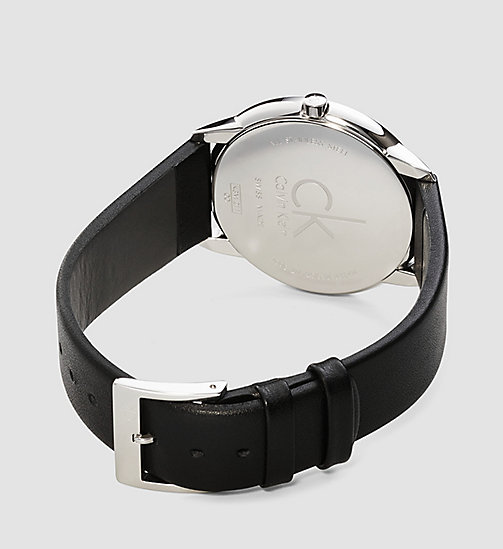 CALVINKLEIN Watch - Calvin Klein Minimal - SILVER / BLACK - CALVIN KLEIN WATCHES & JEWELLERY - detail image 1