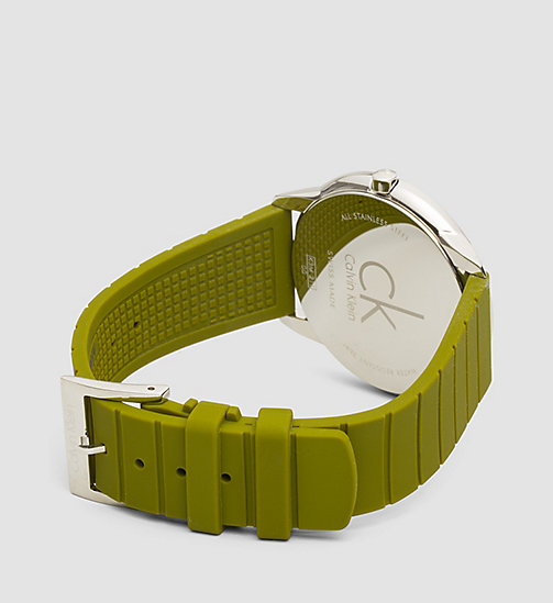 CALVINKLEIN Watch - Calvin Klein Minimal - SST / GREEN / GREY - CALVIN KLEIN WATCHES - detail image 1