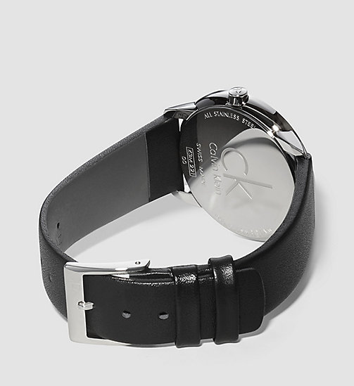 CALVINKLEIN Watch - Calvin Klein Minimal - SILVER/BLACK - CALVIN KLEIN WATCHES - detail image 1