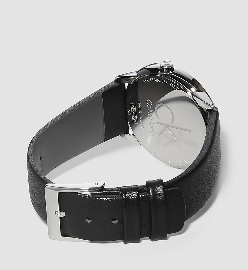 CALVINKLEIN Watch - Calvin Klein Minimal - SILVER/BLACK - CALVIN KLEIN SHOES & ACCESSORIES - detail image 1