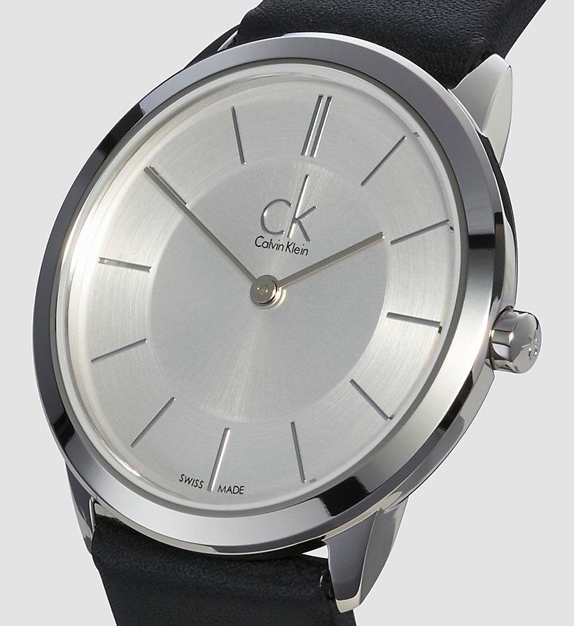 CALVINKLEIN Watch - Calvin Klein Minimal - SILVER/BLACK - CALVIN KLEIN SHOES & ACCESSORIES - detail image 2