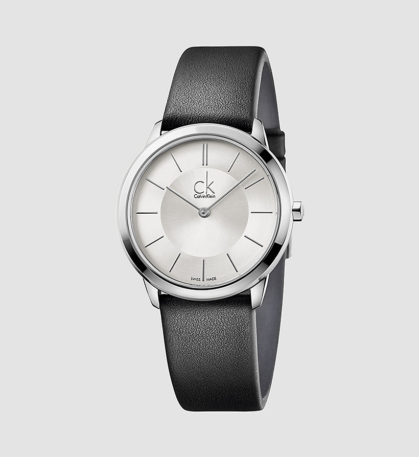 CALVINKLEIN Watch - Calvin Klein Minimal - SILVER/BLACK - CALVIN KLEIN SHOES & ACCESSORIES - main image