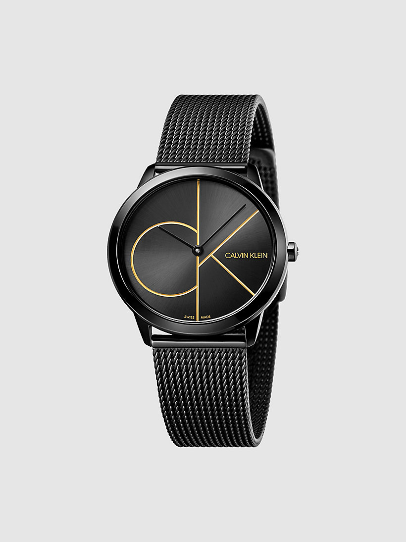 CALVINKLEIN Watch - Calvin Klein Minimal - PVDBLACK  /   BLACK - CALVIN KLEIN SHOES & ACCESSORIES - main image