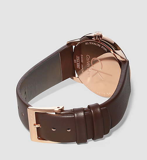 Watch - Calvin Klein Minimal - SILVER / PINK / BR - CALVIN KLEIN SHOES & ACCESSORIES - detail image 1