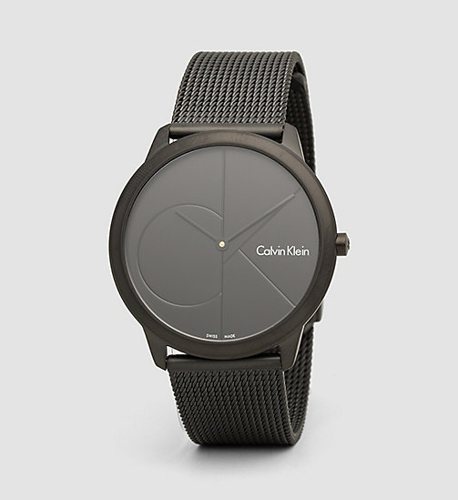 CALVINKLEIN Watch - Calvin Klein Minimal - BLACK - CALVIN KLEIN ATHLETIC INSPIRED - main image