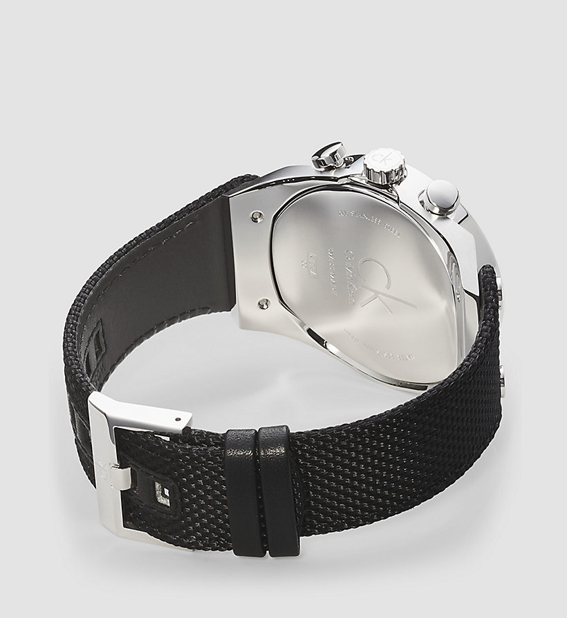 CALVINKLEIN Watch - Calvin Klein Eager - BLACK - CALVIN KLEIN SHOES & ACCESSORIES - detail image 1