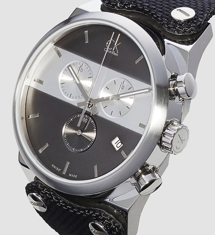 CALVINKLEIN Watch - Calvin Klein Eager - BLACK - CALVIN KLEIN SHOES & ACCESSORIES - detail image 2
