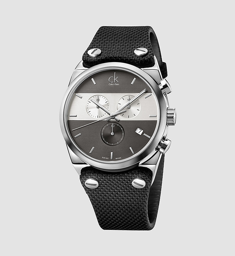 CALVINKLEIN Watch - Calvin Klein Eager - BLACK - CALVIN KLEIN SHOES & ACCESSORIES - main image
