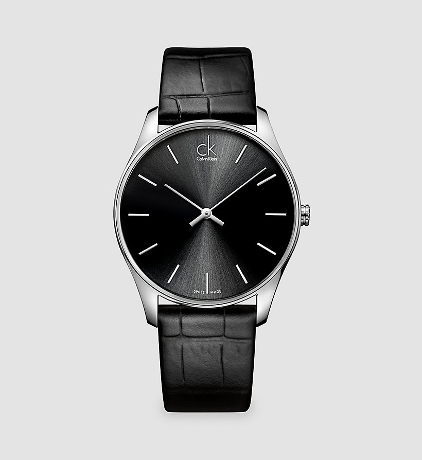 CALVINKLEIN Watch - Calvin Klein Classic - BLACK - CALVIN KLEIN SHOES & ACCESSORIES - main image