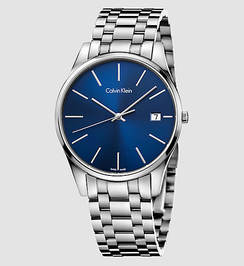 CALVINKLEIN Watch - Calvin Klein Time - BLUE - CALVIN KLEIN WATCHES - main image