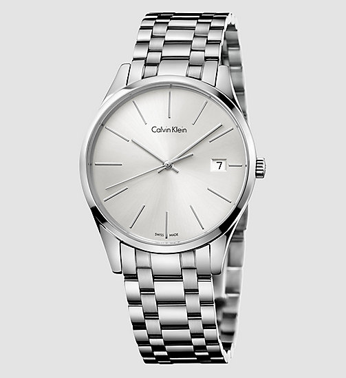 CALVINKLEIN Time - SILVER - CALVIN KLEIN WATCHES & JEWELLERY - main image