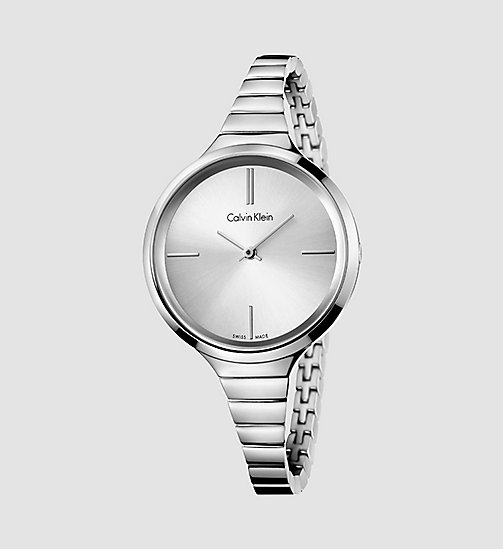 Watch - Calvin Klein Lively - SILVER - CALVIN KLEIN SHOES & ACCESSORIES - main image