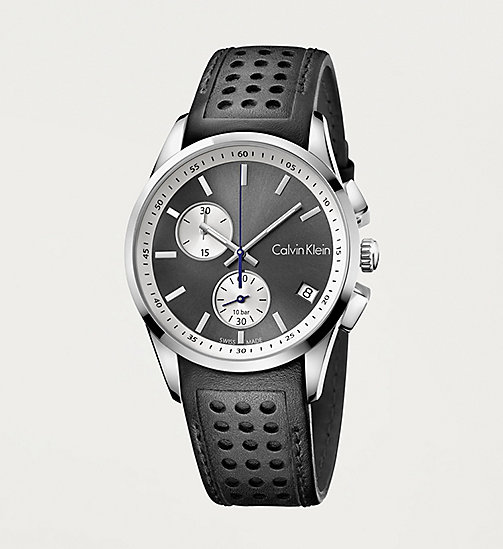 CALVINKLEIN BOLD - COOL GREY / BLACK - CALVIN KLEIN WATCHES & JEWELLERY - main image