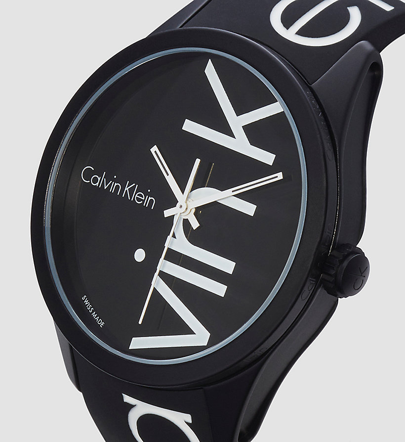 CALVINKLEIN Watch - Calvin Klein Color - BLACK/WHITE - CALVIN KLEIN SHOES & ACCESSORIES - detail image 2