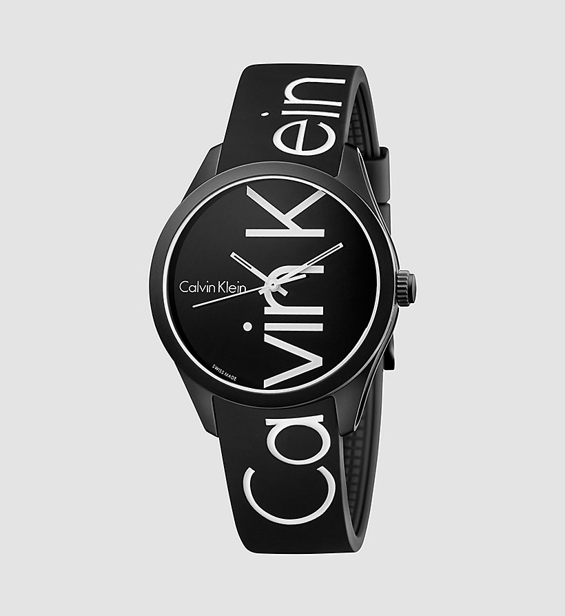 CALVINKLEIN Watch - Calvin Klein Color - BLACK/WHITE - CALVIN KLEIN SHOES & ACCESSORIES - main image
