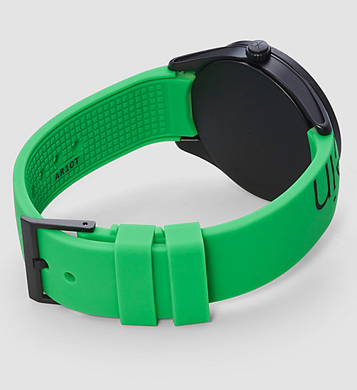CALVINKLEIN Watch - Calvin Klein Color - GREEN / BLACK - CALVIN KLEIN WATCHES - detail image 1