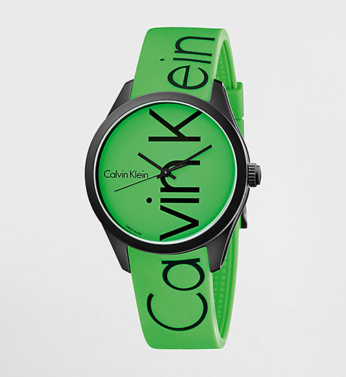 CALVINKLEIN Watch - Calvin Klein Color - GREEN / BLACK - CALVIN KLEIN WATCHES - main image