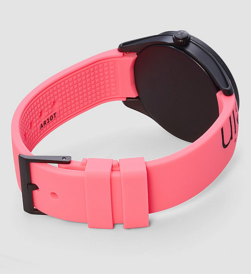 CALVINKLEIN Watch - Calvin Klein Color - PINK / BLACK - CALVIN KLEIN WATCHES & JEWELLERY - detail image 1