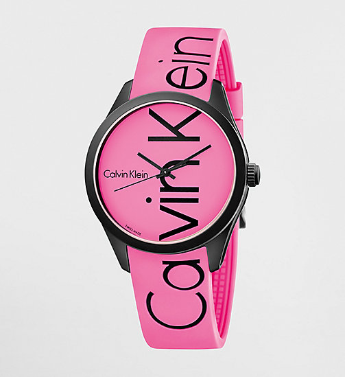 CALVINKLEIN Watch - Calvin Klein Color - PINK / BLACK - CALVIN KLEIN WATCHES & JEWELLERY - main image