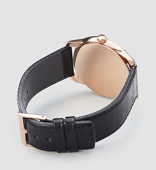 CALVINKLEIN Watch - Calvin Klein Infinite - BLACK / PINK - CALVIN KLEIN WATCHES - detail image 1