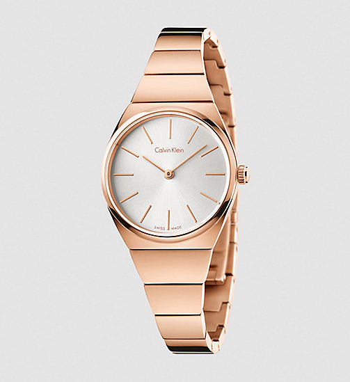 CALVINKLEIN Watch - Calvin Klein Supreme - SILVER / PINK - CALVIN KLEIN WATCHES & JEWELLERY - main image