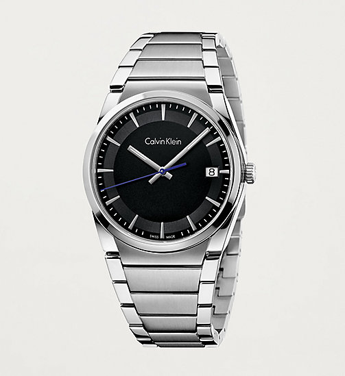 CALVINKLEIN Watch - Calvin Klein Step - BLACK / STAINLESS - CALVIN KLEIN WATCHES - main image
