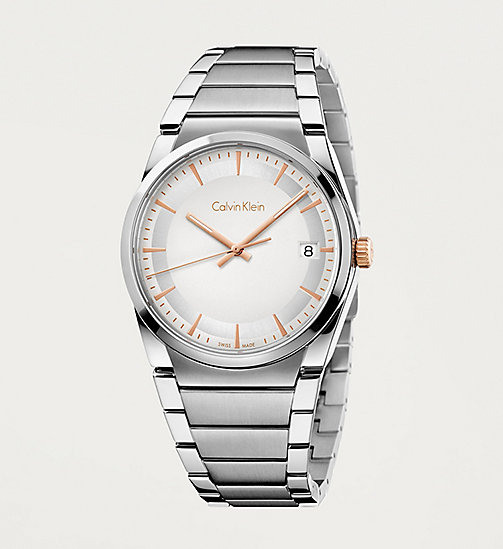 CALVINKLEIN Watch - Clavin Klein Step - SILVER/STAINLESS - CALVIN KLEIN WATCHES - main image