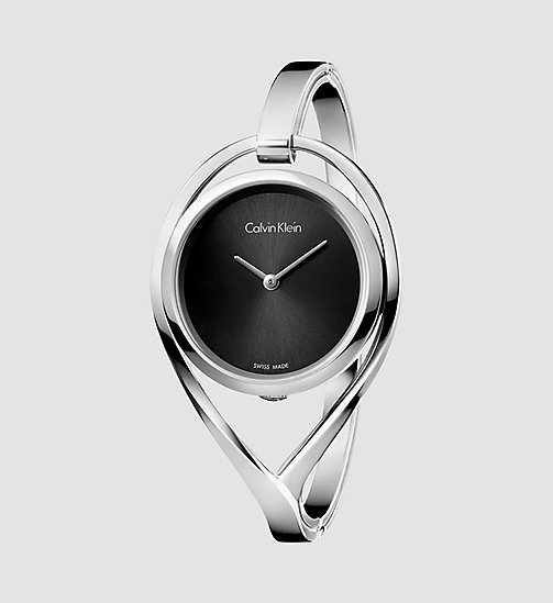 Watch - Calvin Klein Light - BLACK / STAINLESS STEEL - CALVIN KLEIN SHOES & ACCESSORIES - main image