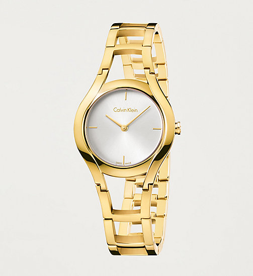 CALVINKLEIN Watch - Calvin Klein Class - SILVER / YELLOW - CALVIN KLEIN WATCHES - main image