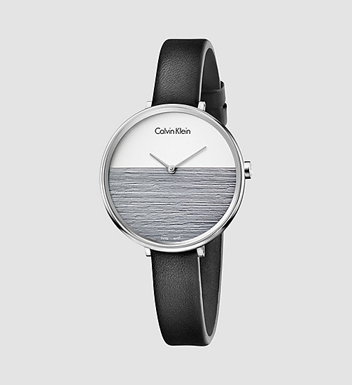 Watch - Calvin Klein Rise - SILVER / COOL GREY / BLACK - CALVIN KLEIN  - main image
