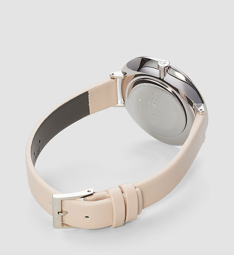 CALVINKLEIN Watch - Calvin Klein Rise - SILVER / BEIGE - CALVIN KLEIN SHOES & ACCESSORIES - detail image 1