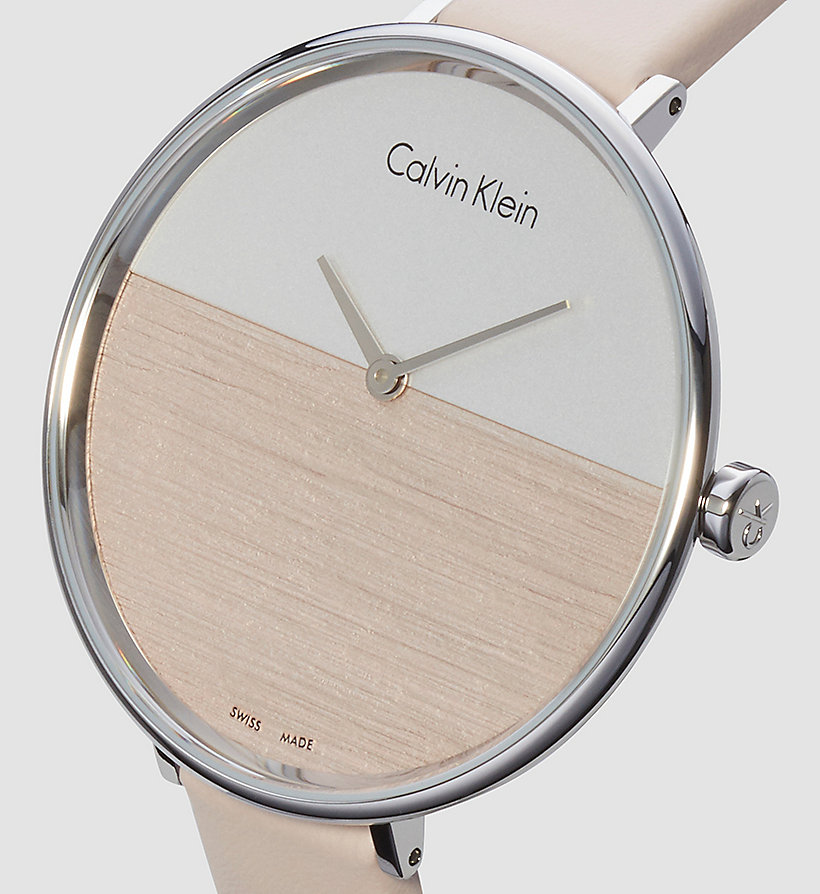 CALVINKLEIN Watch - Calvin Klein Rise - SILVER / BEIGE - CALVIN KLEIN SHOES & ACCESSORIES - detail image 2