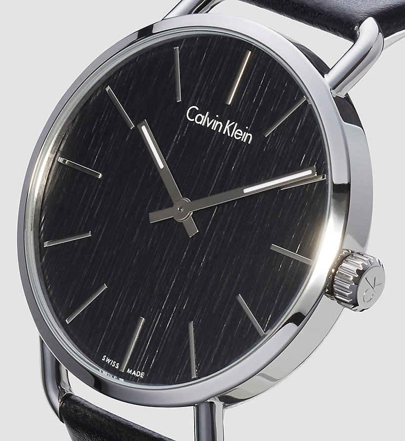 CALVINKLEIN Watch - Calvin Klein Even - BLACK - CALVIN KLEIN SHOES & ACCESSORIES - detail image 2