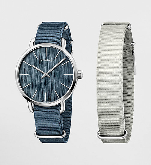 Watch - Calvin Klein Even - BLUE / GREY - CALVIN KLEIN SHOES & ACCESSORIES - main image