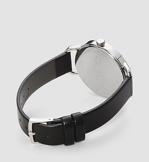 Watch - Calvin Klein Even - BLACK - CALVIN KLEIN SHOES & ACCESSORIES - detail image 1