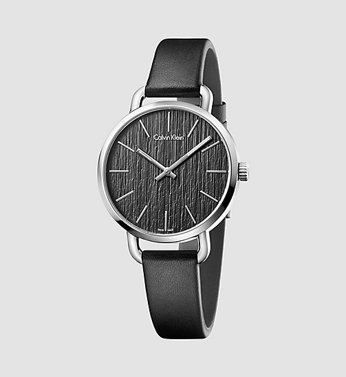 CALVINKLEIN EVEN - BLACK - CALVIN KLEIN WATCHES & JEWELLERY - main image