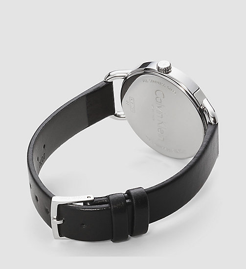 Watch - Calvin Klein Even - SILVER / BLACK - CALVIN KLEIN  - detail image 1