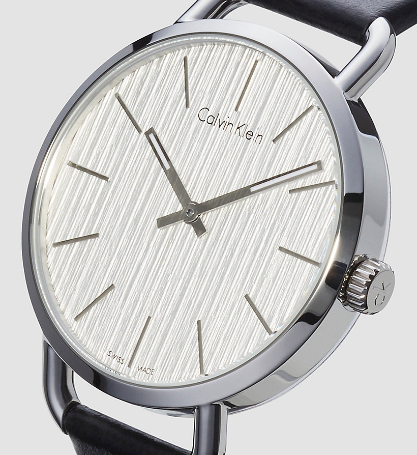 CALVINKLEIN Watch - Calvin Klein Even - SILVER / BLACK - CALVIN KLEIN SHOES & ACCESSORIES - detail image 2