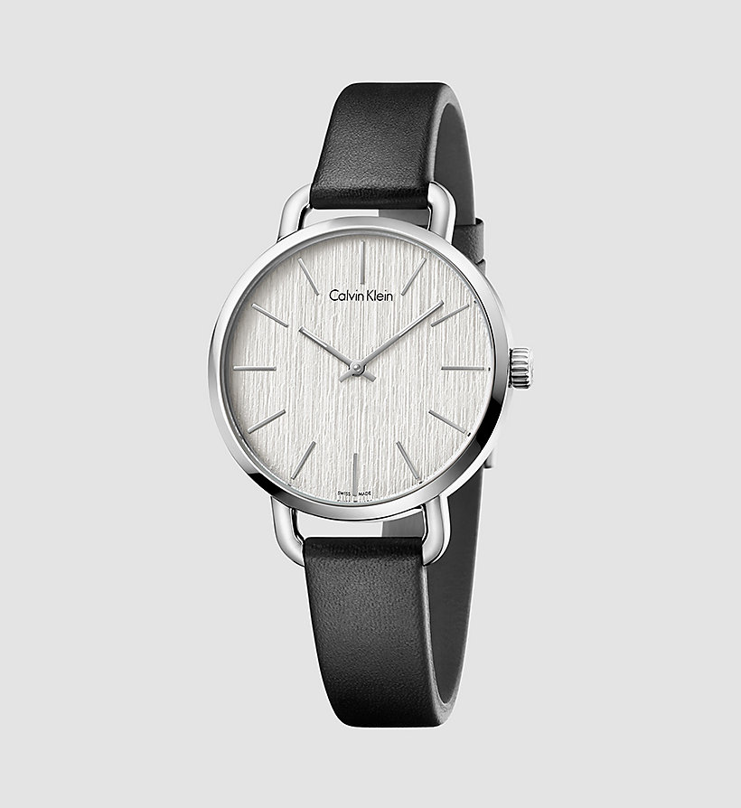 CALVINKLEIN Watch - Calvin Klein Even - SILVER / BLACK - CALVIN KLEIN SHOES & ACCESSORIES - main image