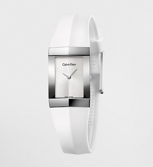 CALVINKLEIN Watch - Calvin Klein Shape - SILVER/BLACK - CALVIN KLEIN WATCHES & JEWELLERY - main image