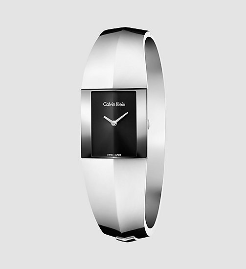 CALVINKLEIN Watch - Calvin Klein Shape - BLACK / STAINLESS STEEL - CALVIN KLEIN WATCHES - main image