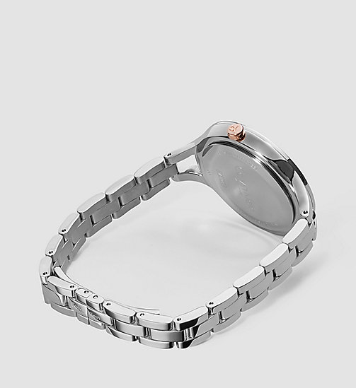 Watch - Calvin Klein Graphic - SILVER / STAINLESS STEEL - CALVIN KLEIN SHOES & ACCESSORIES - detail image 1