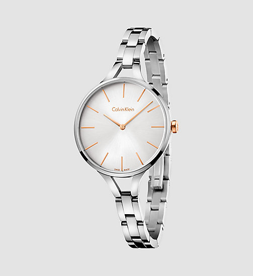 CALVINKLEIN Watch - Calvin Klein Graphic - SILVER / STAINLESS STEEL - CALVIN KLEIN WATCHES & JEWELLERY - main image