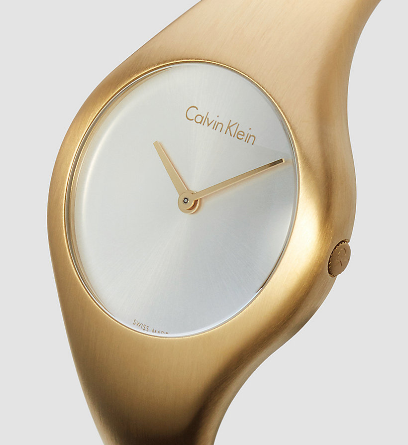 CALVINKLEIN Watch - Calvin Klein Bare - SILVER / YELLOW - CALVIN KLEIN SHOES & ACCESSORIES - detail image 2
