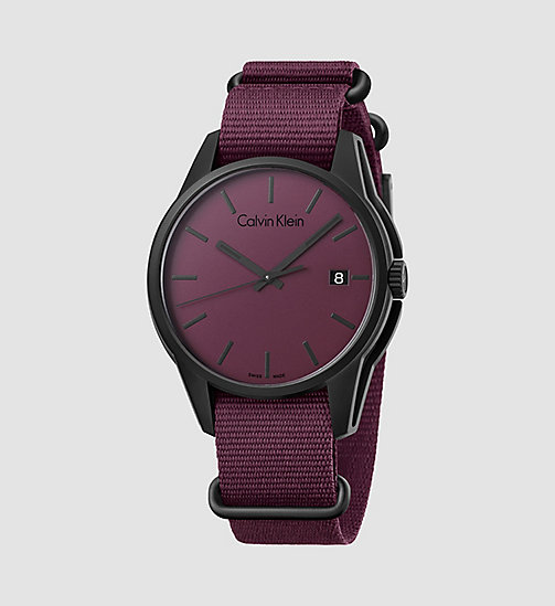 CALVINKLEIN Watch - Calvin Klein Tone - RED - CALVIN KLEIN WATCHES - main image